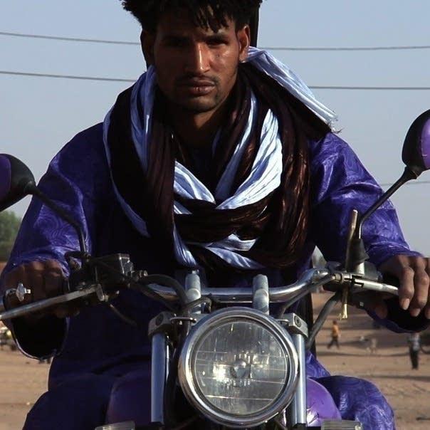 Actor Mdou Moctar in Tuareg 'Purple Rain' remake