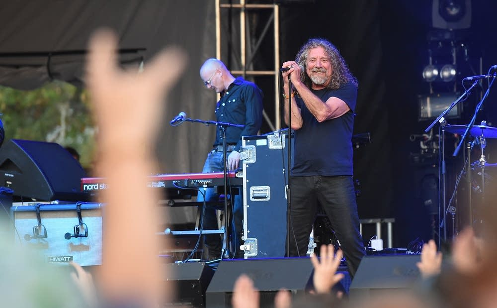 Robert Plant at Bonnaroo 2015