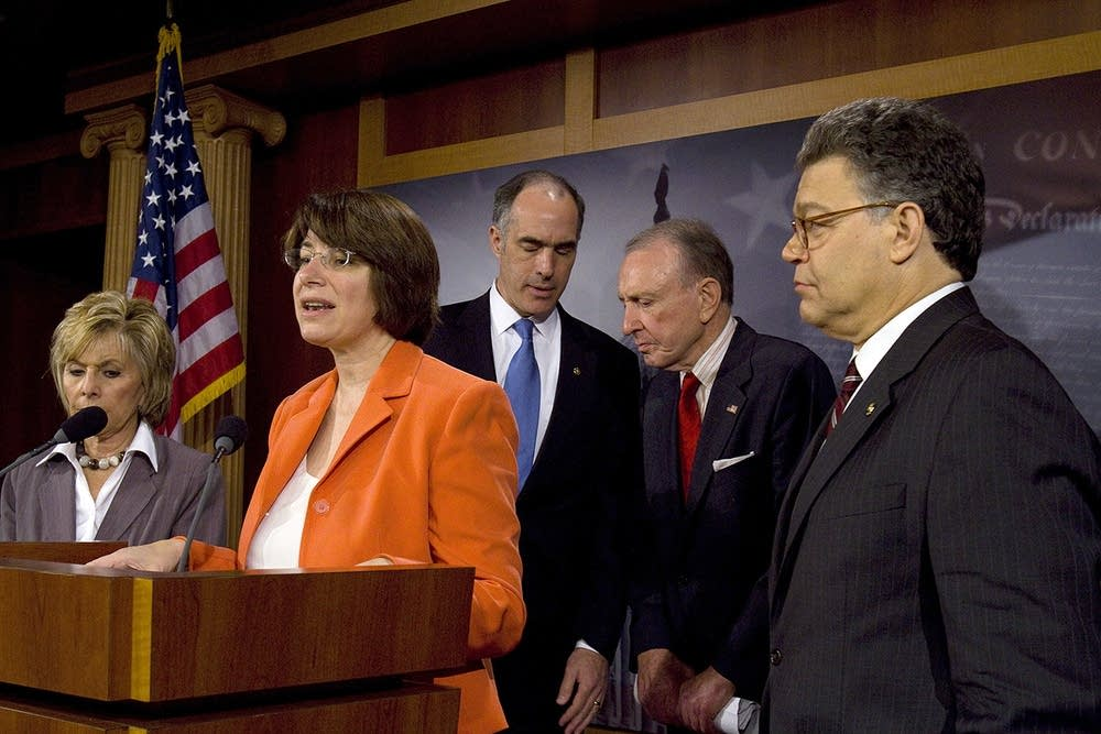 Franken, Amy Klobuchar and others