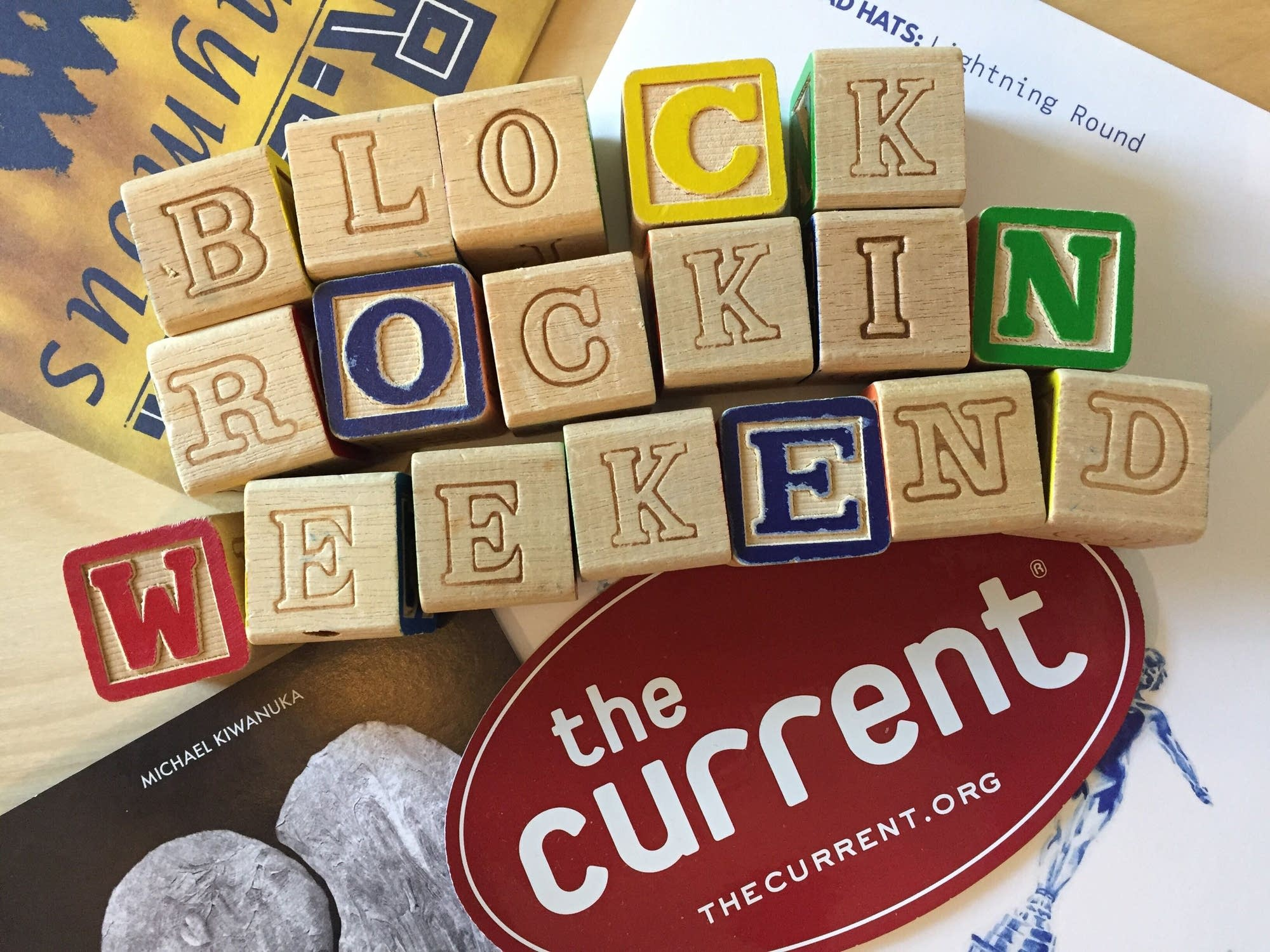 Block Rockin Weekend 2020 version - option 2