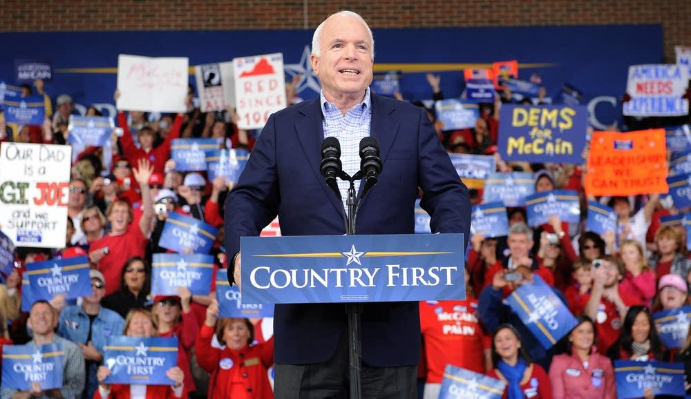 John McCain in Virginia