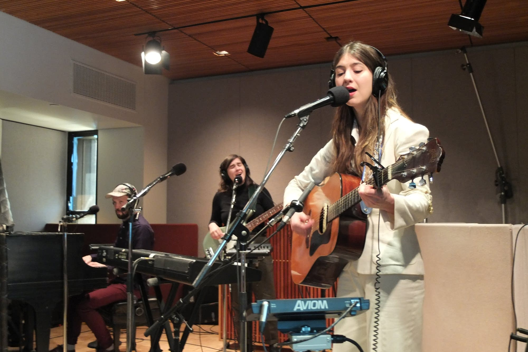 Weyes Blood performs in The Current studio