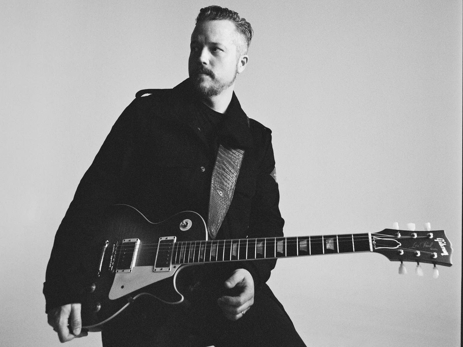 Jason Isbell portrait by Alysse Gafkjen