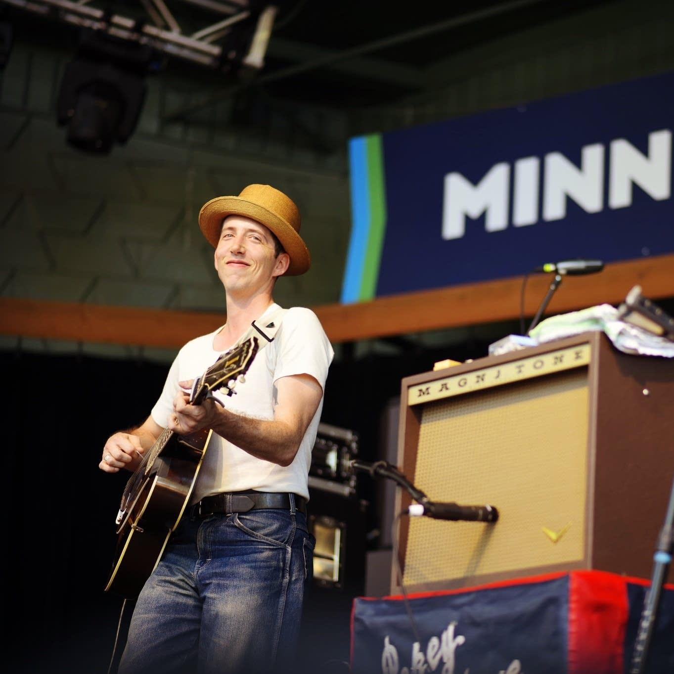 Pokey LaFarge at the Minnesota State Fair