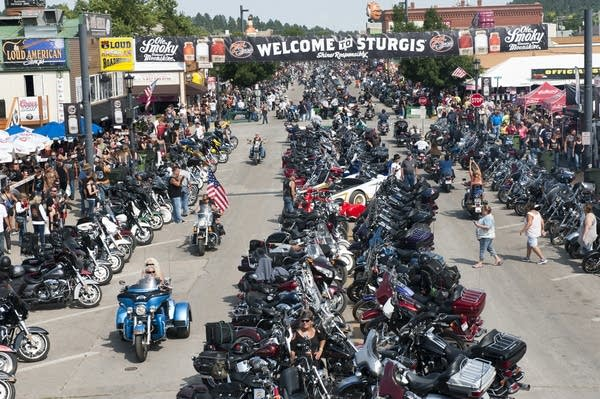 Annual Sturgis Motorcycle Rally Celebrates Its 75th Year