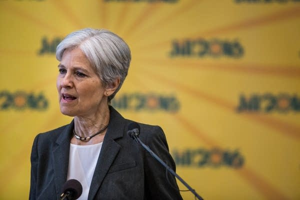 Jill Stein speaks in Minneapolis