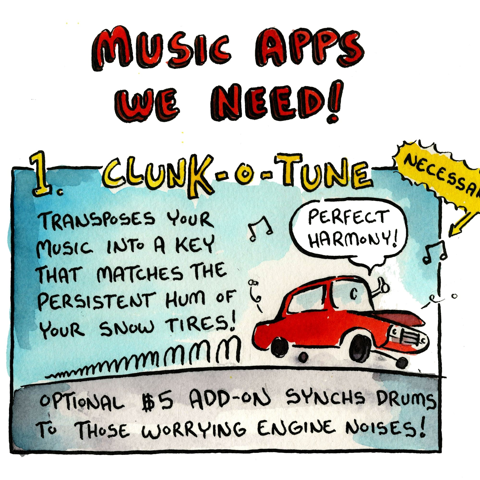 Music Apps We Need