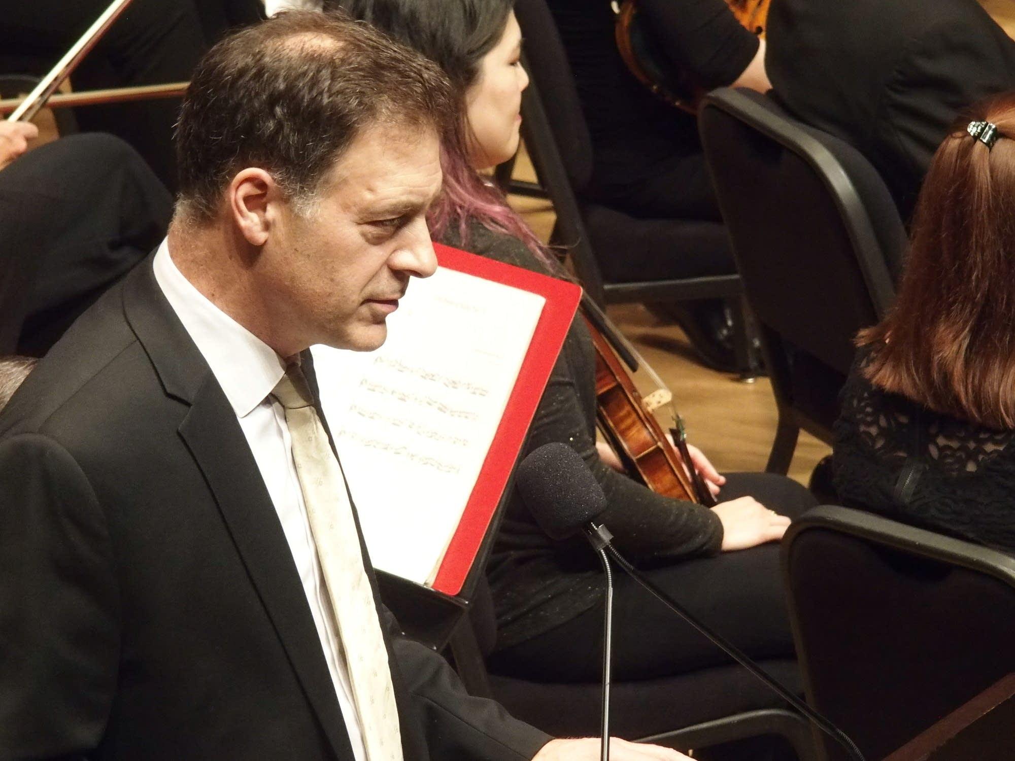 Minnesota Orchestra Principal Cellist Tony Ross