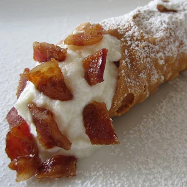 Bacon Cannoli
