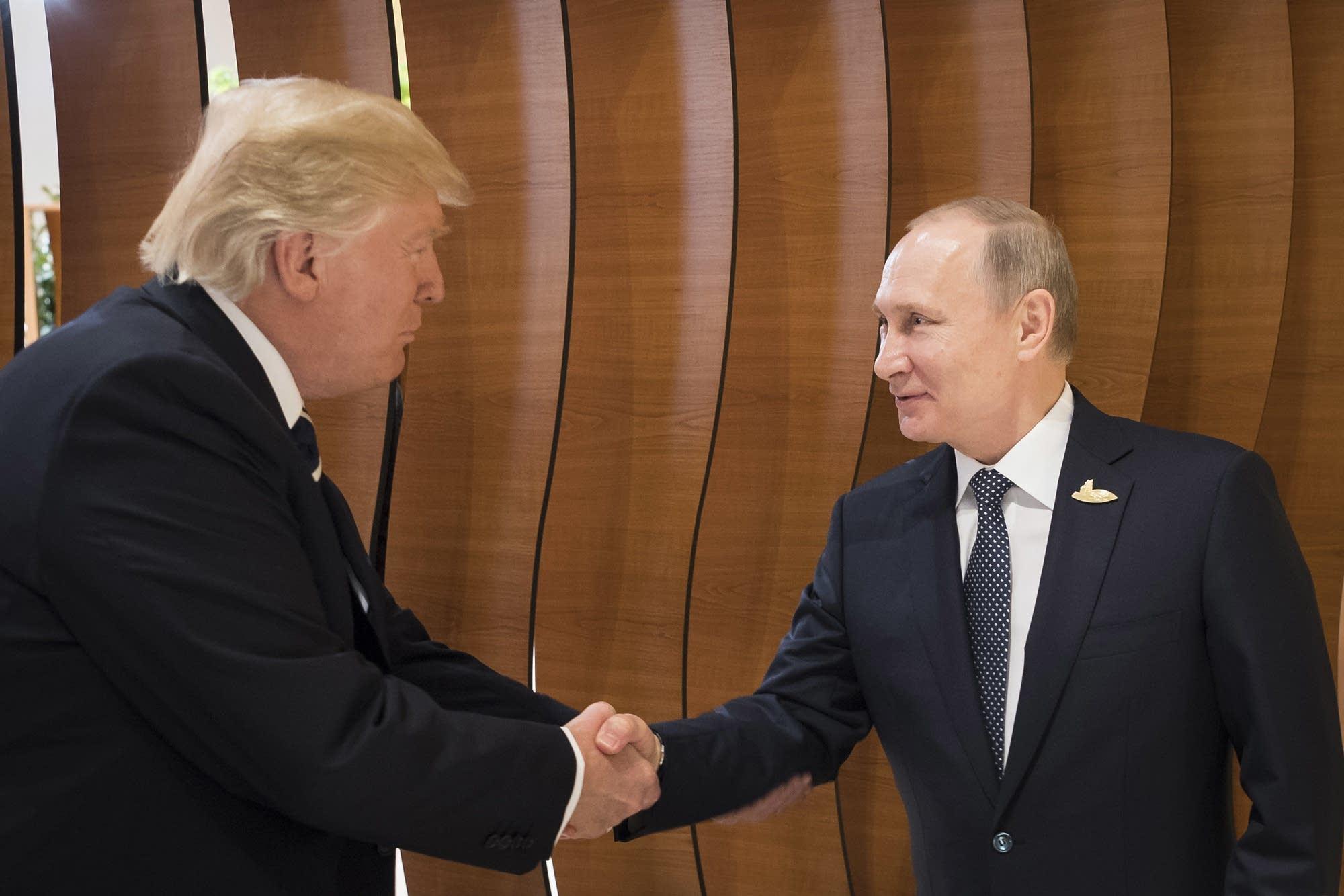 President Trump and President Putin