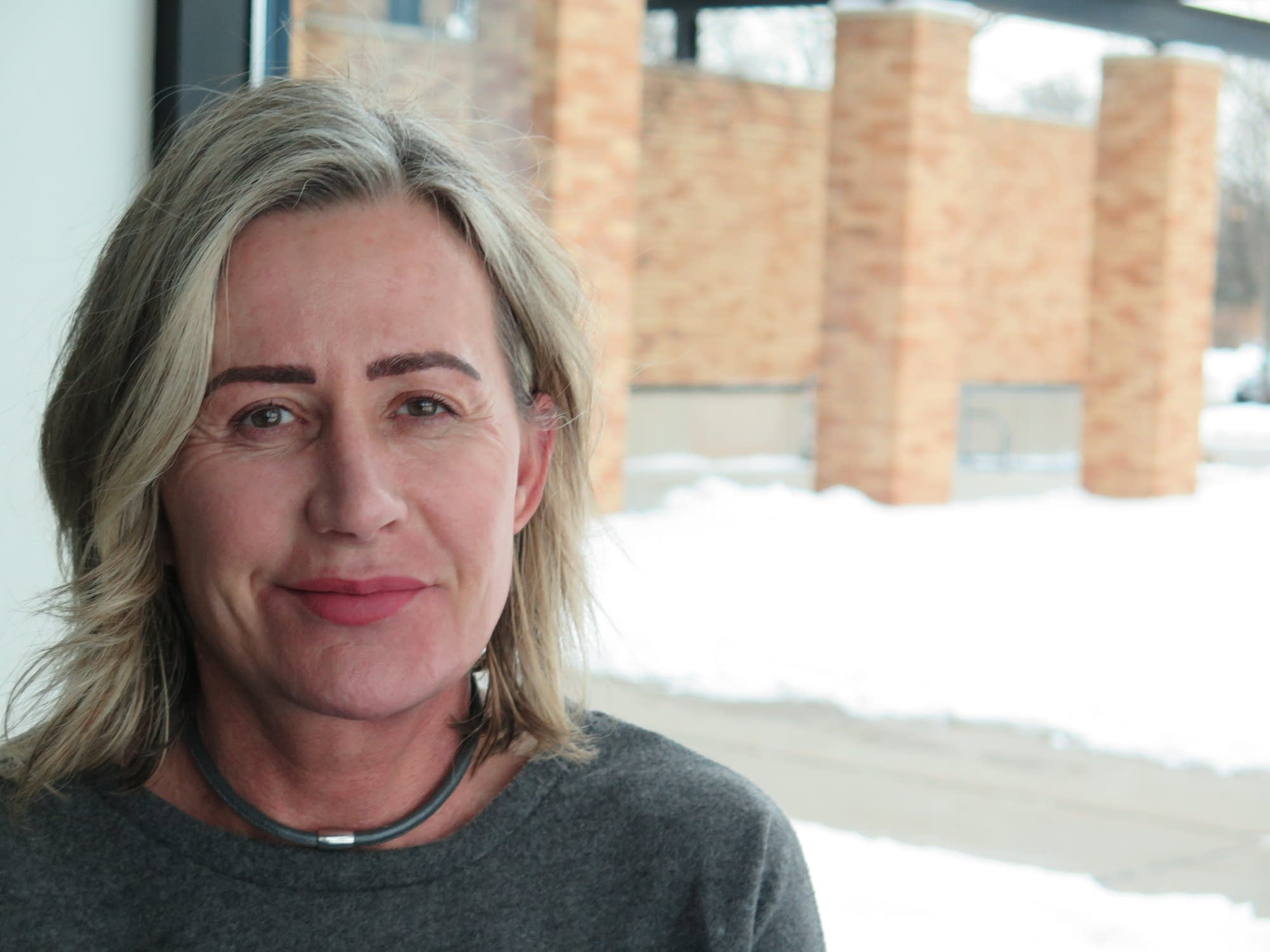 Kristine Lund, 53, of Savage is disabled and on Medicare.