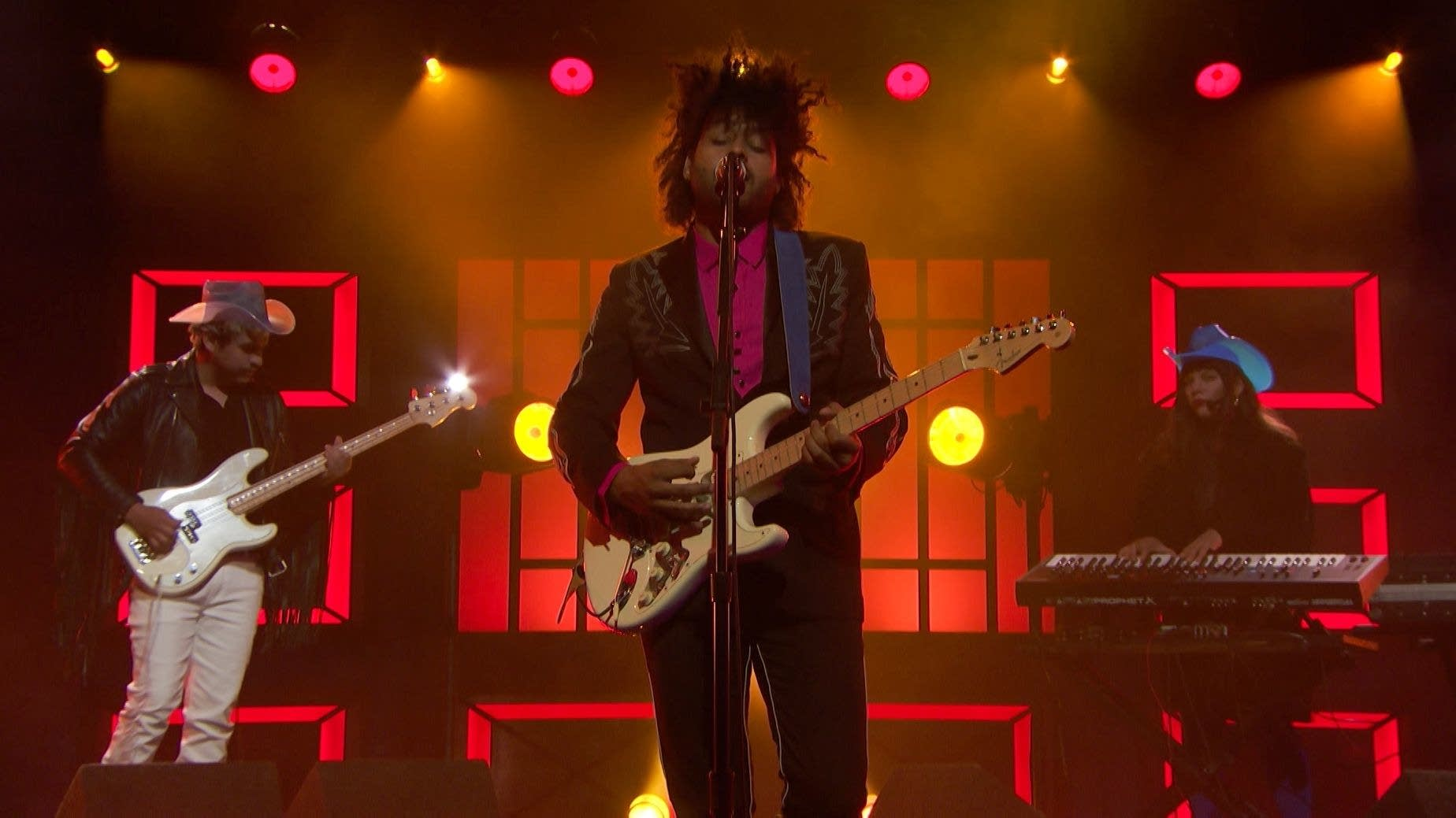 Twin Shadow performs 'Saturdays' on Conan