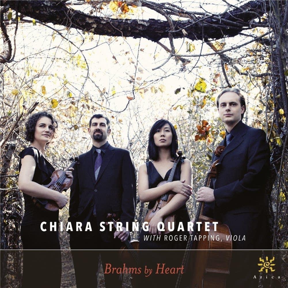 chiara string quartet brahms by heart