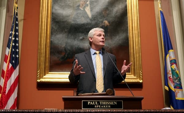 Speaker of the House Paul Thissen