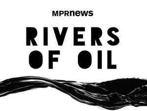 Rivers of Oil logo: MPR News podcast
