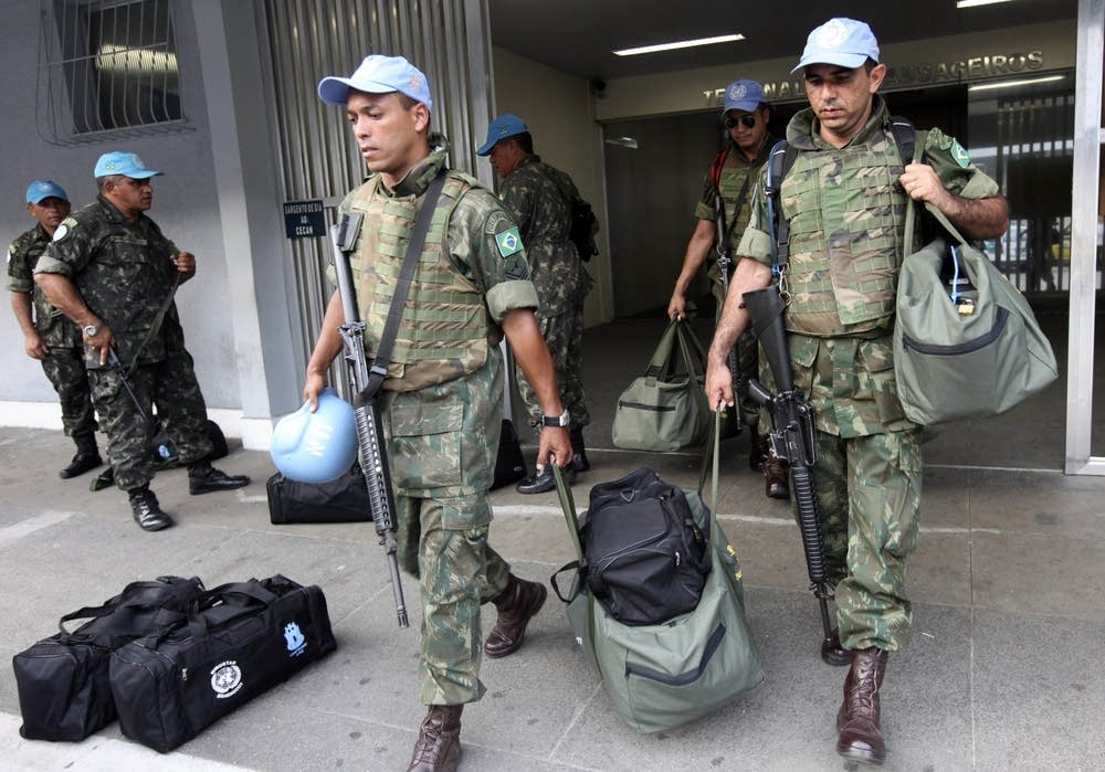 Brazilian peacekeepers