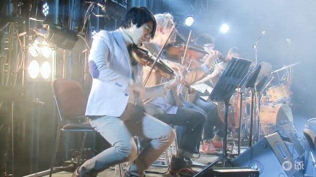 Josh Misner, leader of the Laurels String Quartet.
