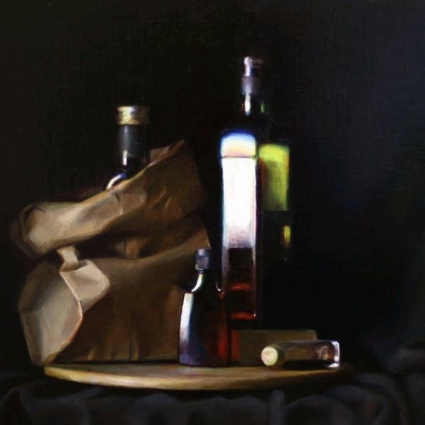 Paintings of objects.