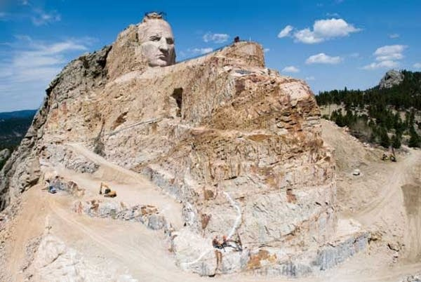 Crazy Horse momument