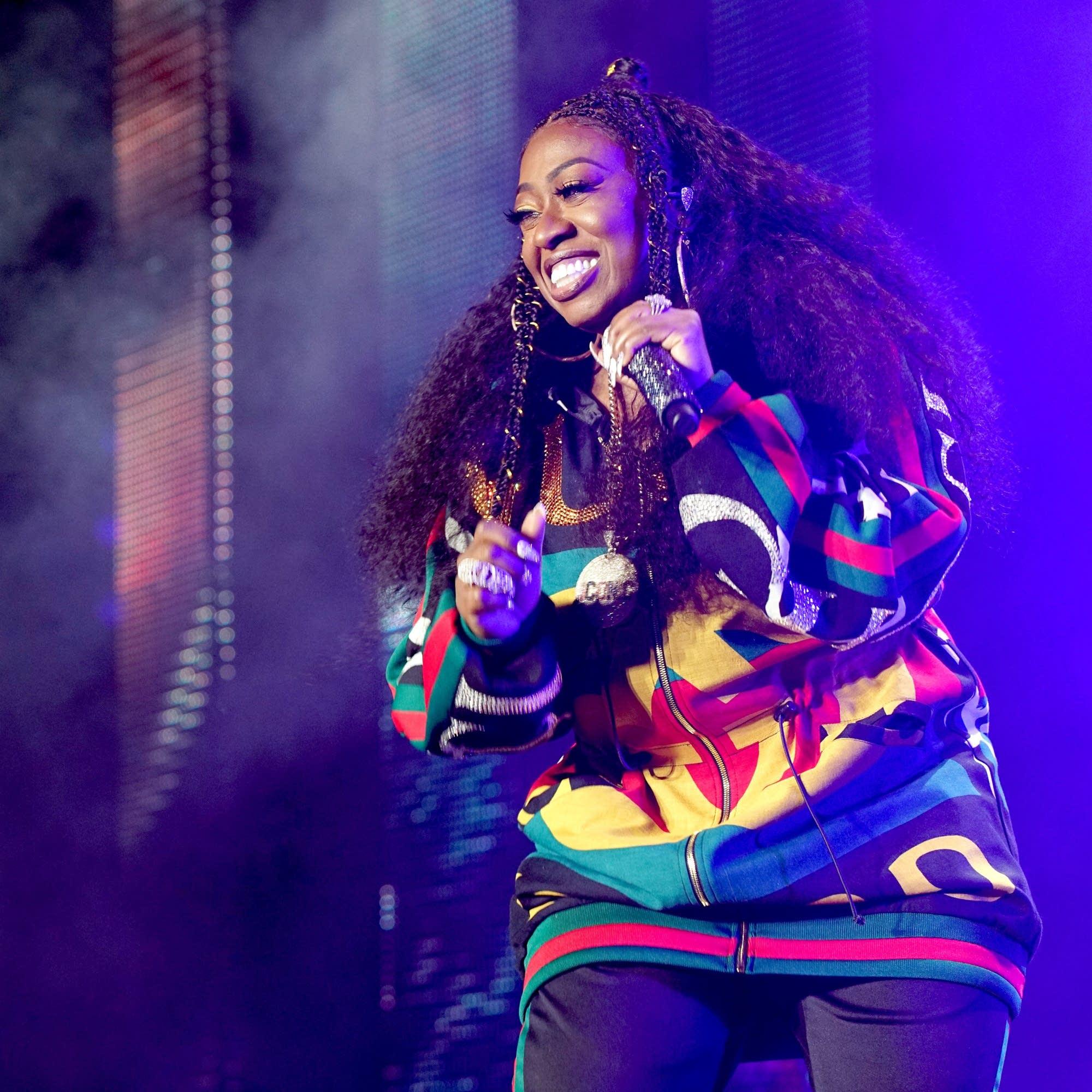Missy Elliott performs in New Orleans in 2018.