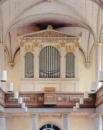 2001 Seifert organ at Pfarrkirche St. Johannes, Sieglar, Germany