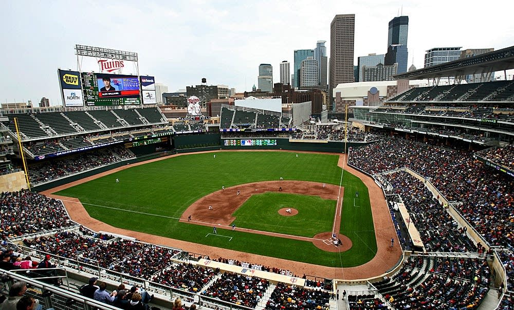 Target Field opens for a game