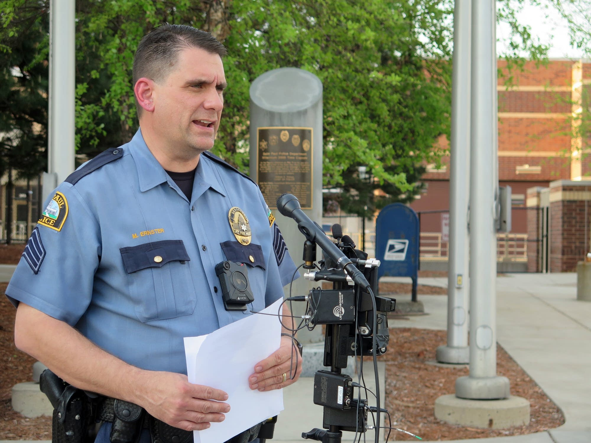 St. Paul Police Department spokesperson Sgt. Mike Ernster