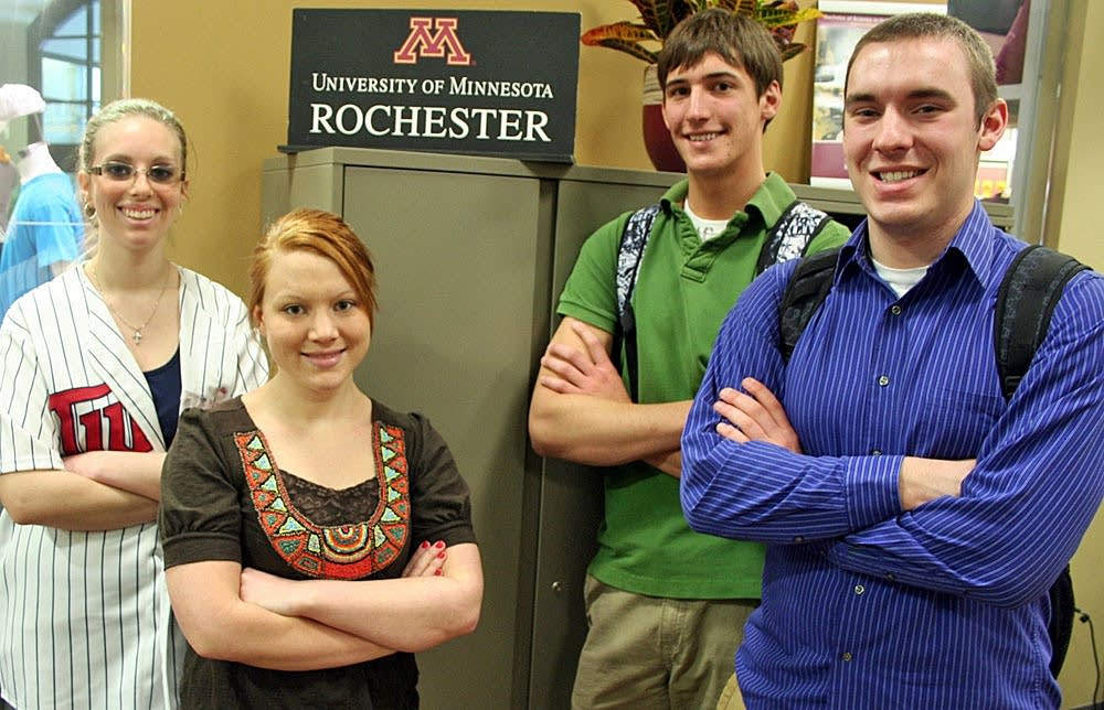 University of Minnesota Rochester students