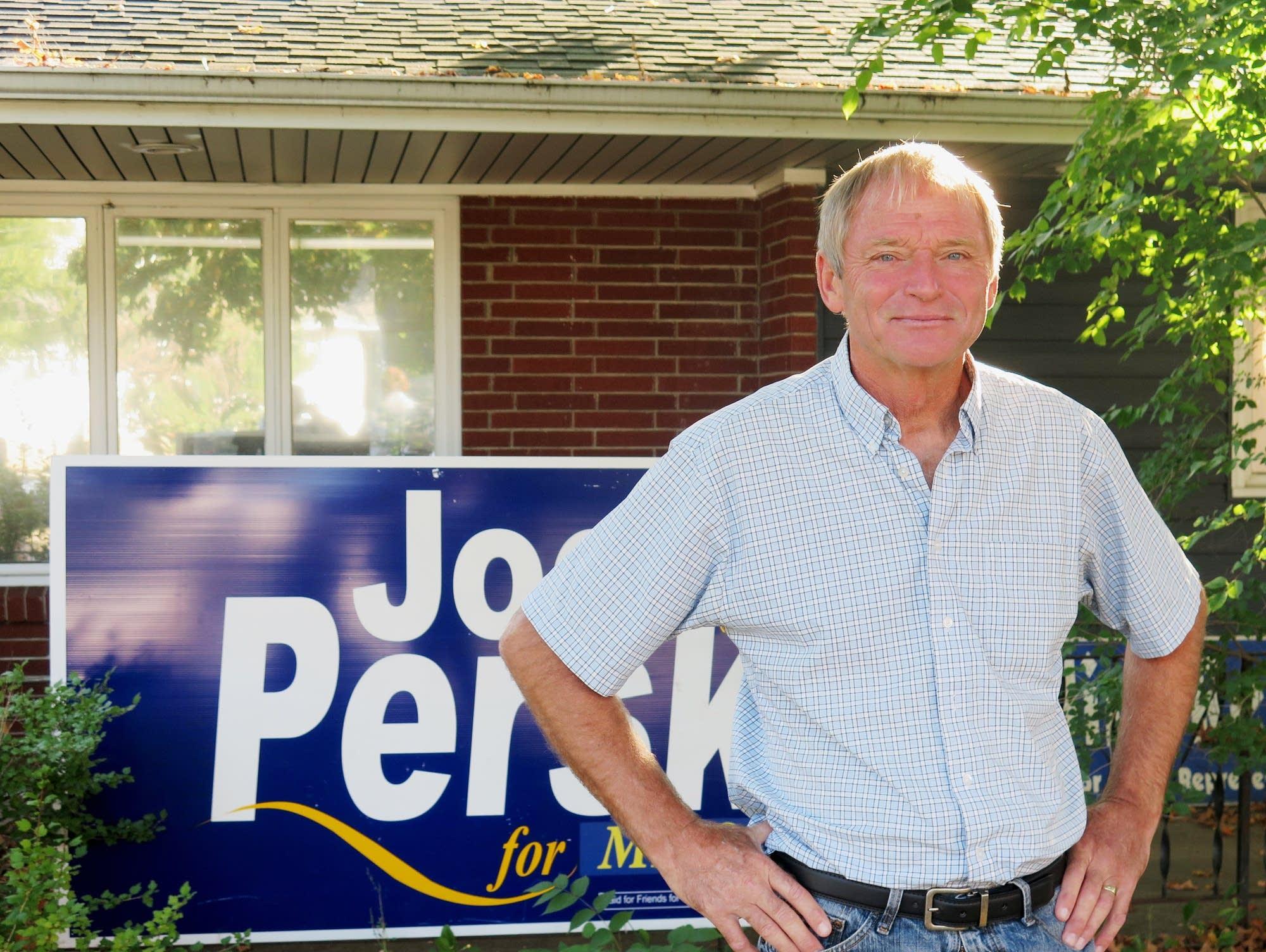DFL candidate Joe Perske