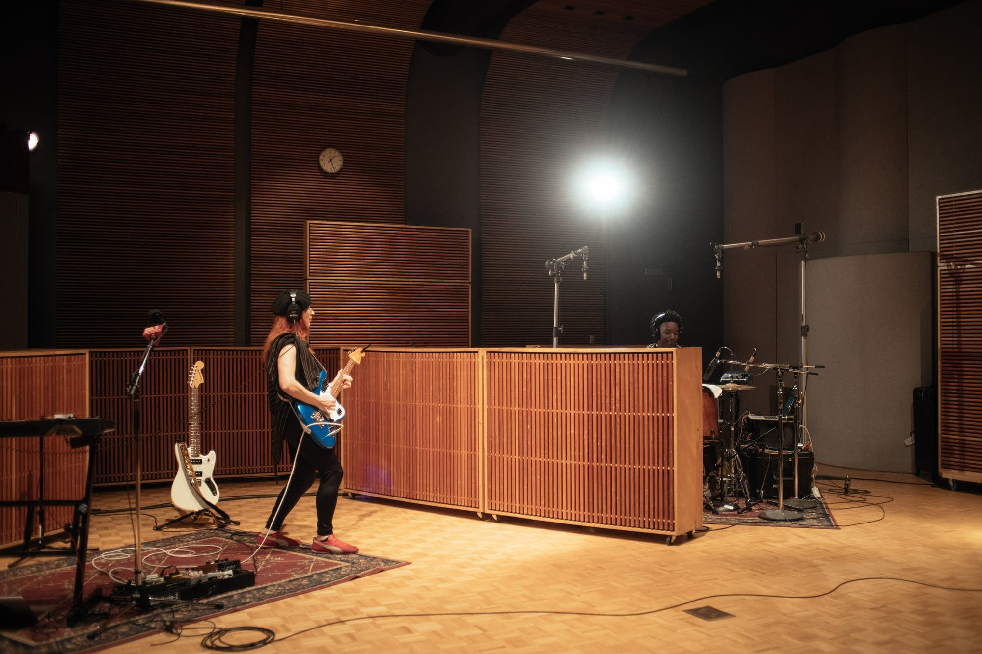 My Brightest Diamond performing in The Current studio