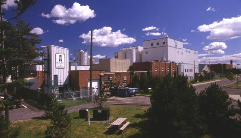 Iogen cellulose ethanol plant
