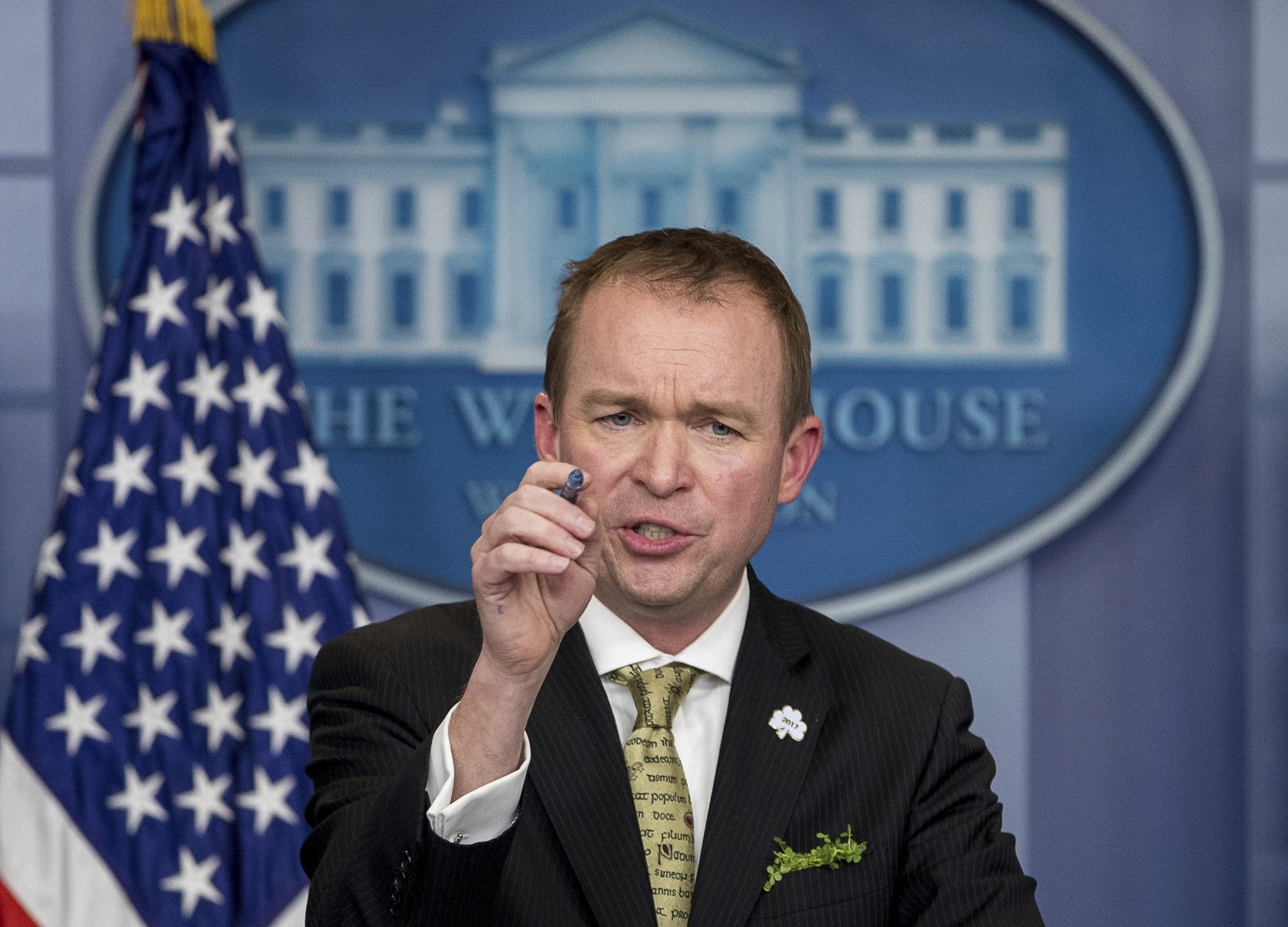 Budget Director Mick Mulvaney speaks