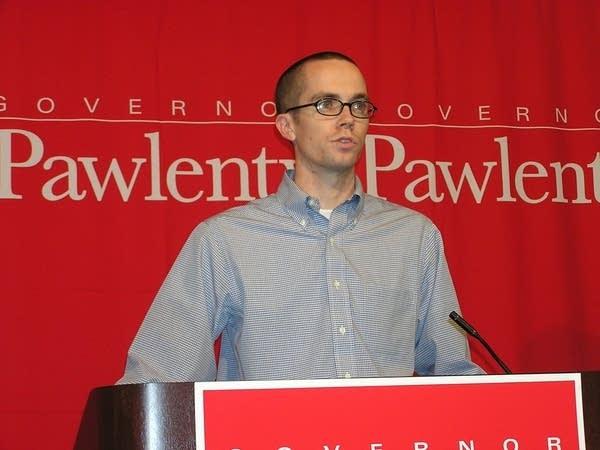 Pawlenty's campaign manger, Michael Krueger