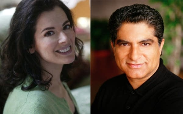 Nigella Lawson and Deepak Chopra