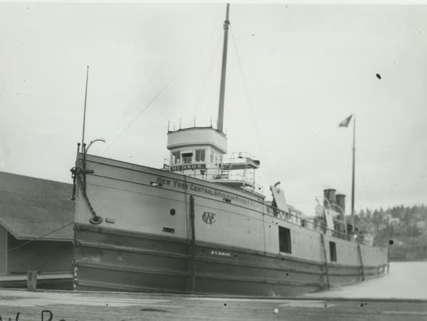The Hudson was launched in 1888 and sank in Lake Superior in 1901