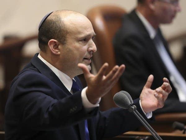 Israel's new prime minister, Naftali Bennett