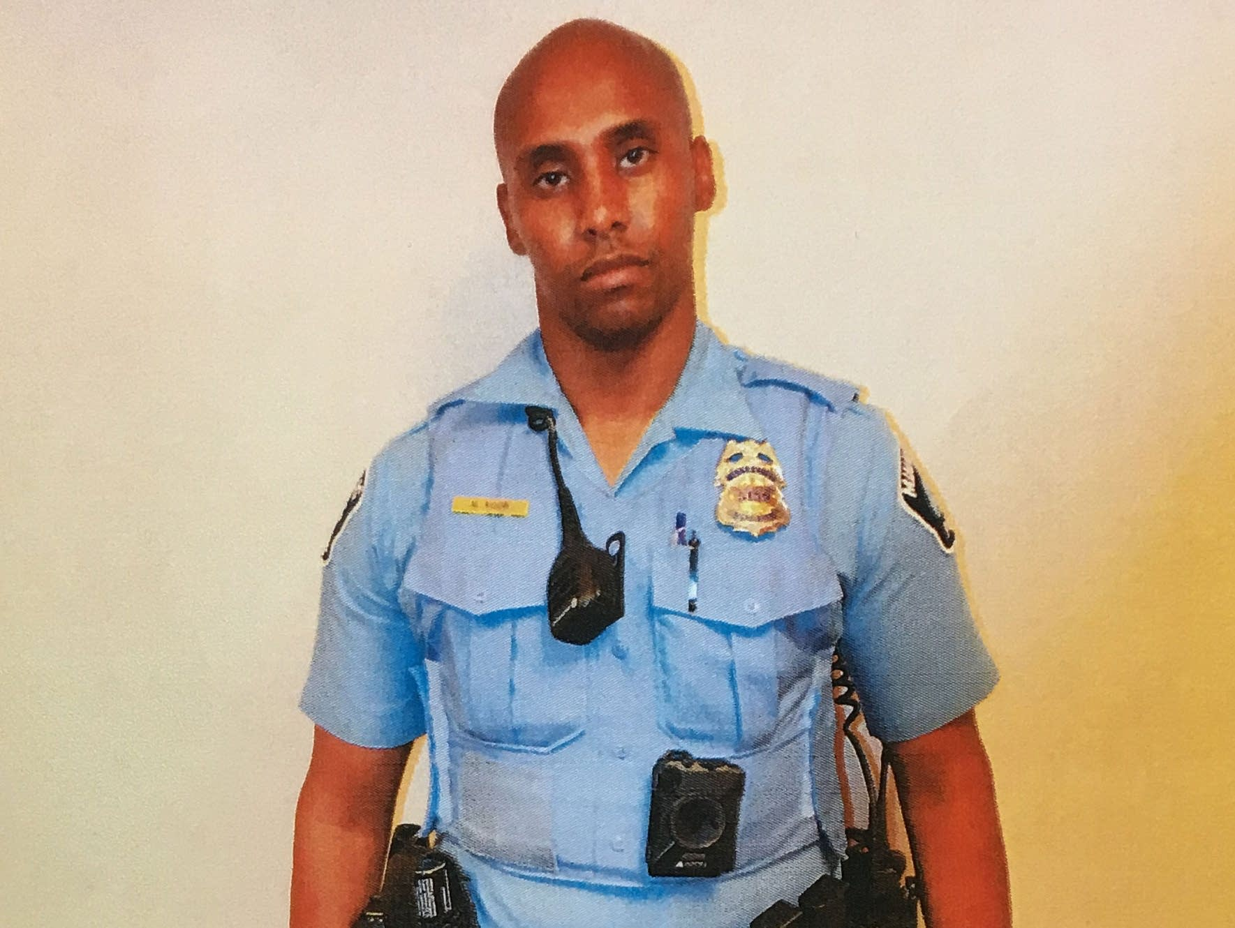 A photo of former Minneapolis officer Mohamed Noor