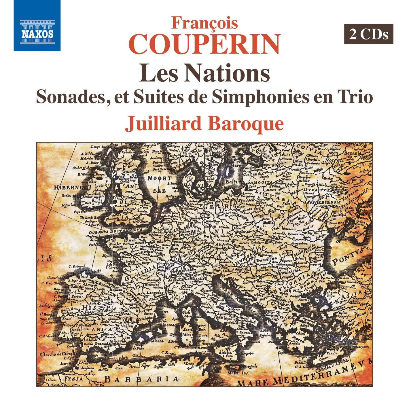 Francois Couperin - Les Nations, 4th Ordre,