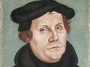 Martin Luther by Lucas Cranch the Elder, 1528