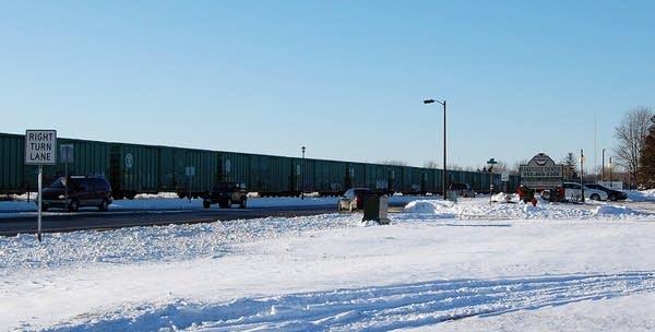 Lakeville rail cars