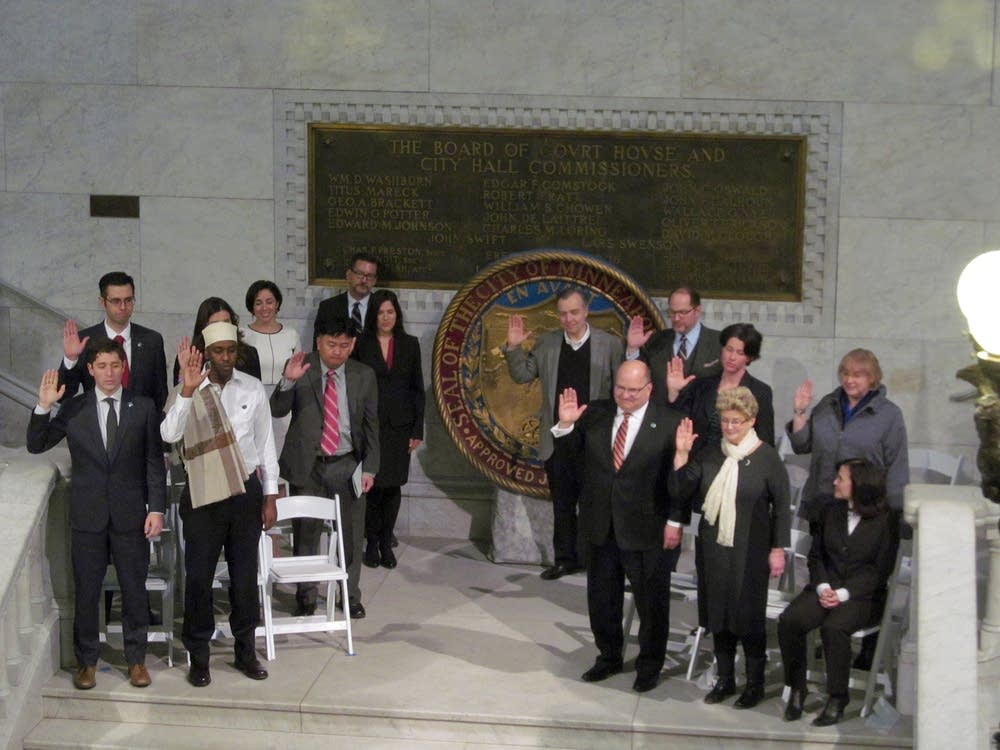 Minneapolis City Council swearing in