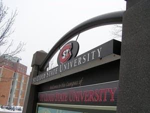 SCSU sign