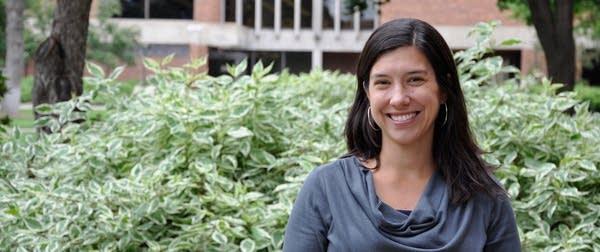 Hamline University assistant professor Jillian Peterson