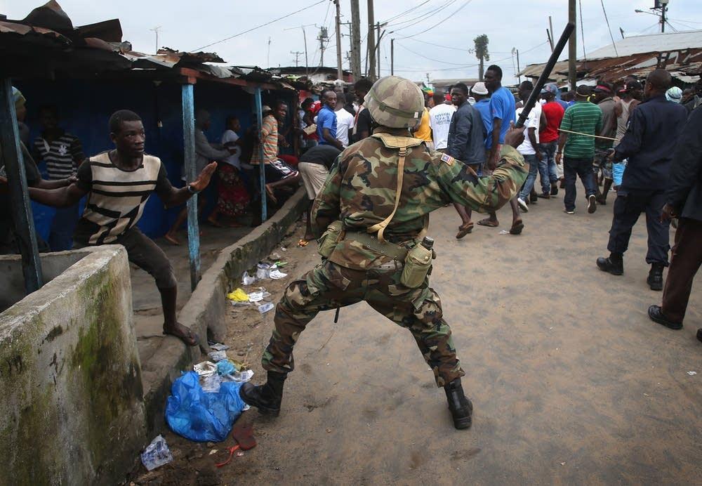 Monrovia clashes