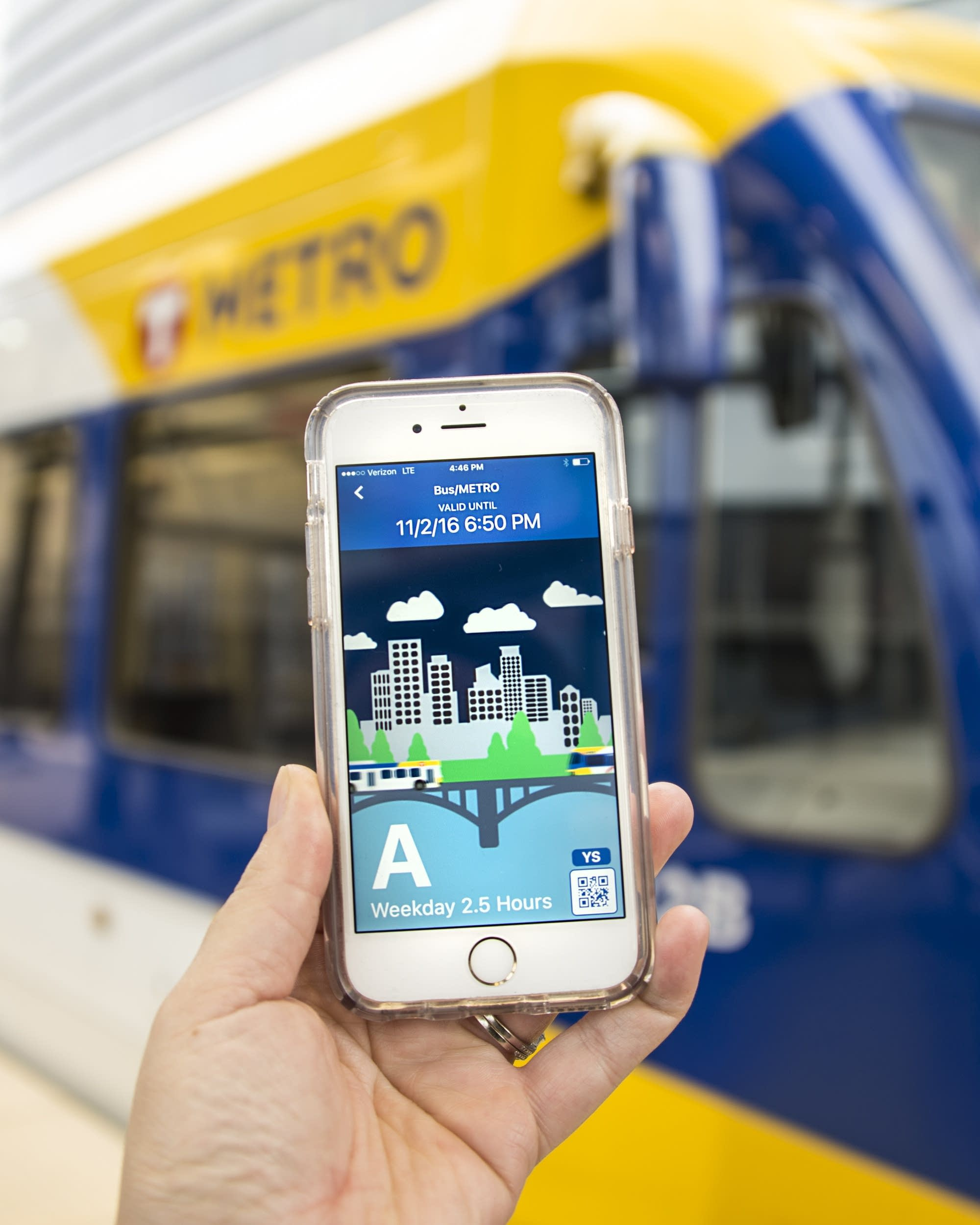 Paying your Metro Transit fare? There's an app for that