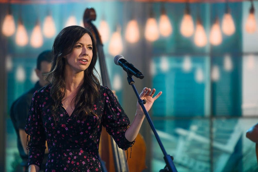 Joy Williams performing on the TODAY show