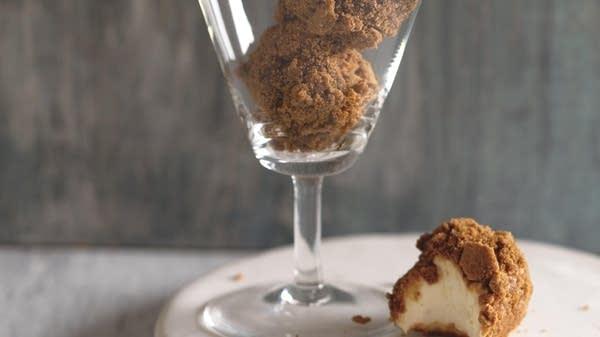 Lemon-Ginger Cheesecake Truffles