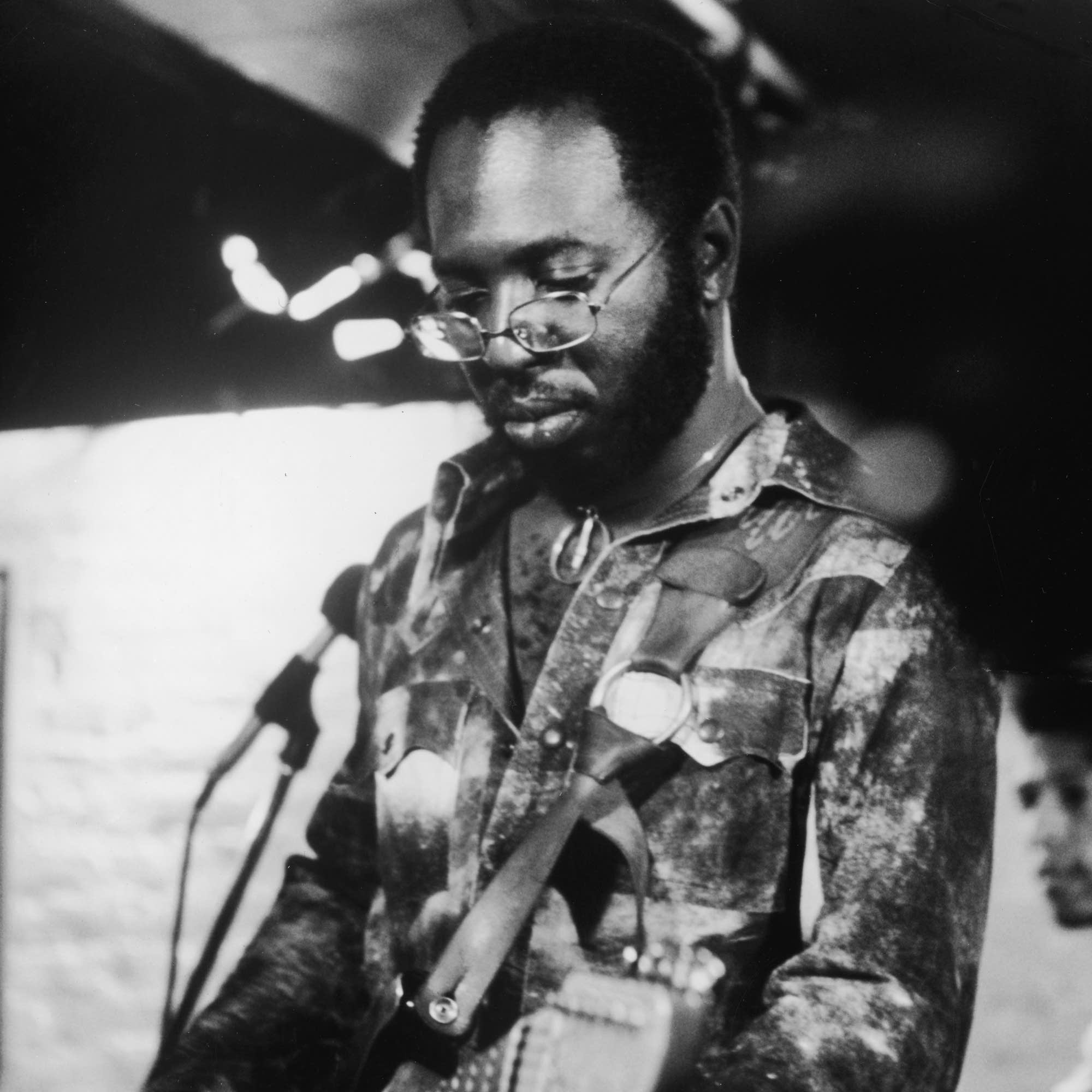Curtis Mayfield performs in 1972.