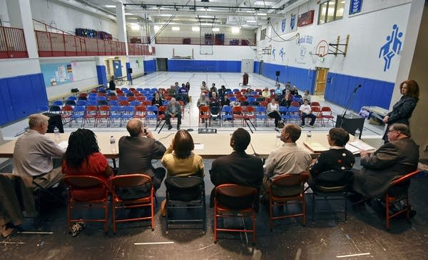 Eight candidates for the St. Paul schools at forum