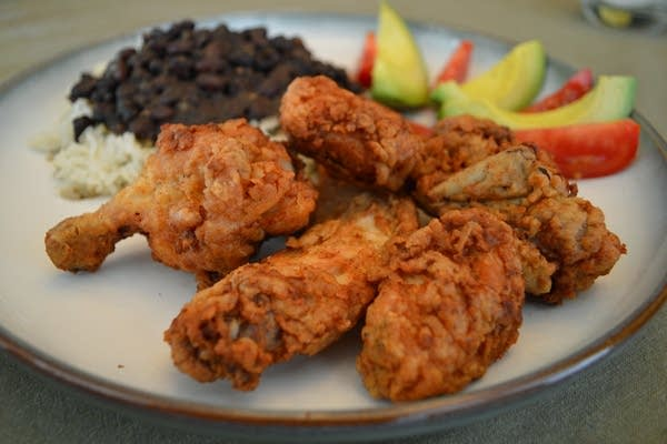 Chicharrón de Pollo (Crispy Chicken Nuggets)